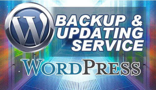 Wordpress backup and updating service