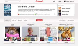 Bradford Family Dentistry Pinterest