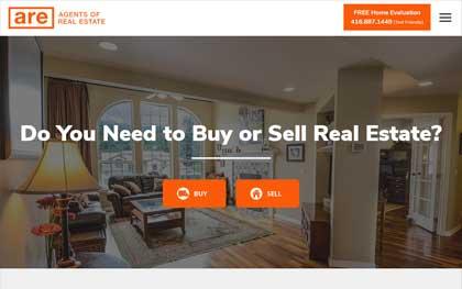 Real Estate Website Designers Condos Homes
