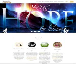 Church Web Design BBC