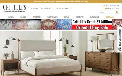 Fine Furniture Website Developers