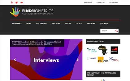 Biometrics Website Designer