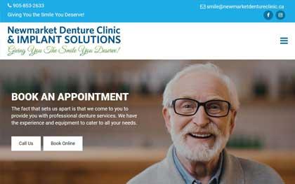 Denture Clinic Website Designers