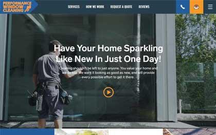 Window Cleaning Website Designer