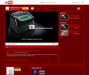 Youtube Findbiometrics